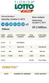 FL Lottery Results screenshot 9