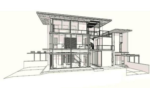How To Draw Architecture Sketch Complete screenshot 2