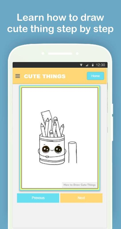 How To Draw Cute Things Easy Step By Step For Android Apk Download