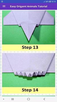 How To Make Origami Animals screenshot 6
