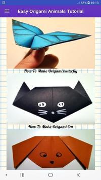 How To Make Origami Animals screenshot 3