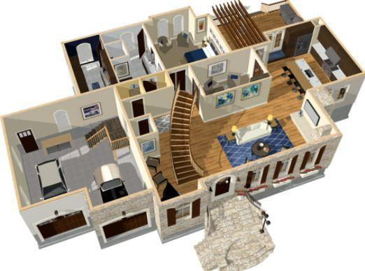 3d House Floor Plans For Android Apk Download