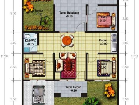 House Plan Minimalist poster