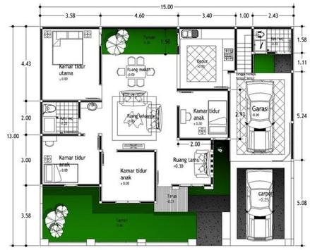 House Plan Minimalist screenshot 22