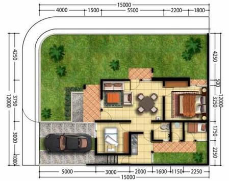 House Plan Minimalist screenshot 2