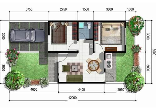 House Plan Minimalist screenshot 3