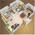 3D house plan designs