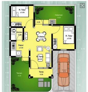 House Plan Drawing Simple Pro poster