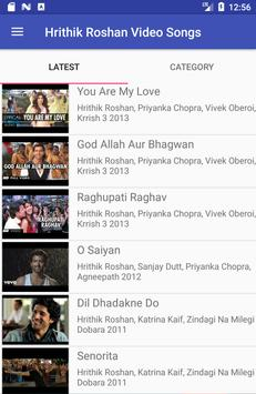 Hrithik Roshan Video Songs screenshot 2