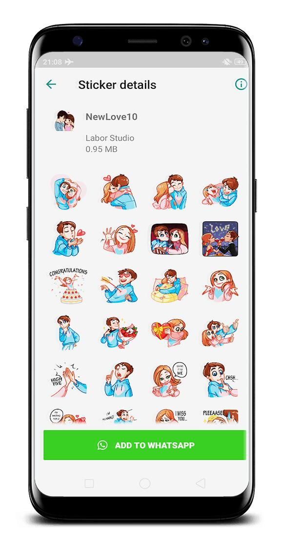 I Love You Sticker For Whatsapp Wastickerapps For Android Apk