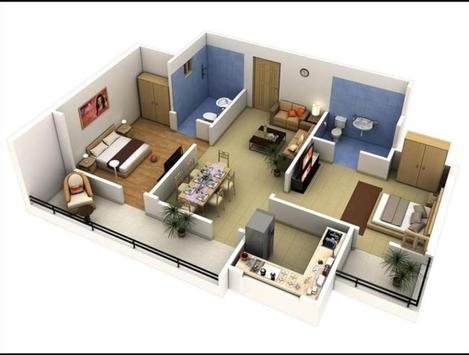 Floor Planner 3d poster