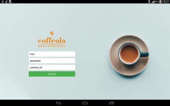 Coffeola poster