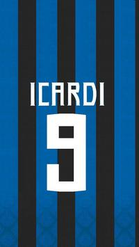 Icardi Fans Art Wallpaper screenshot 2