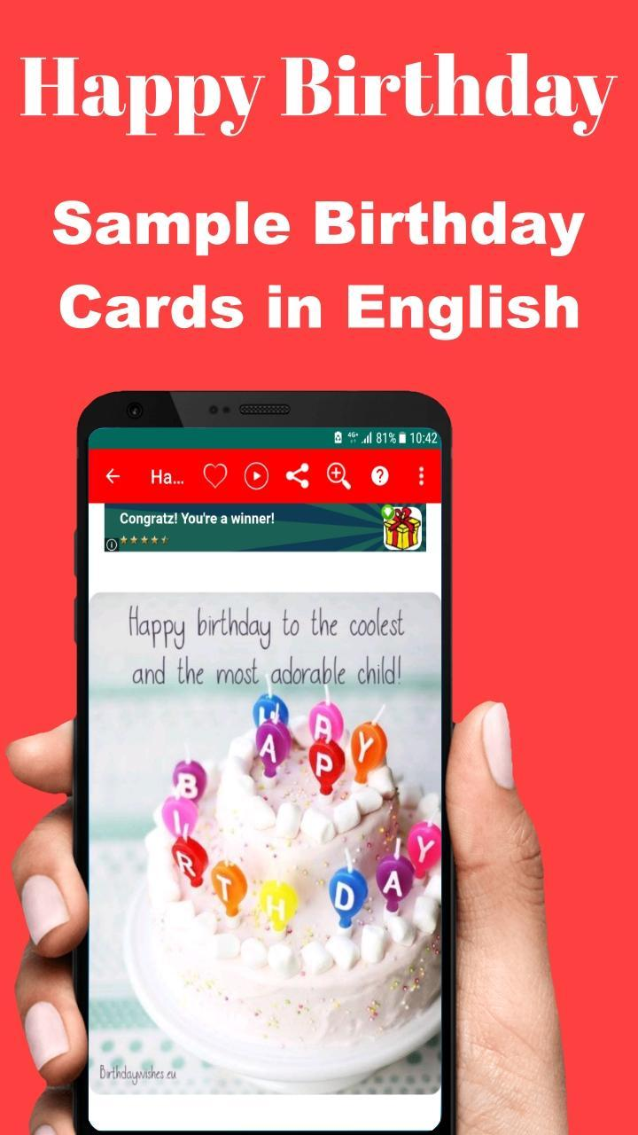 Happy Birthday To You For Android Apk Download