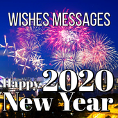 Happy New Year Wishes Cards & Messages 2020 icon