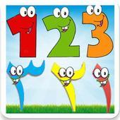 تعليم اللغة العربية الانجليزية للاطفال حروف ارقام. biểu tượng