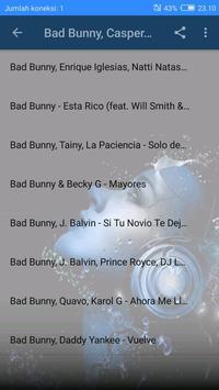 The Most Popular Song Bad Bunny screenshot 1