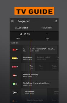 New Zattoo TV App Live Television HD Stream Hints poster