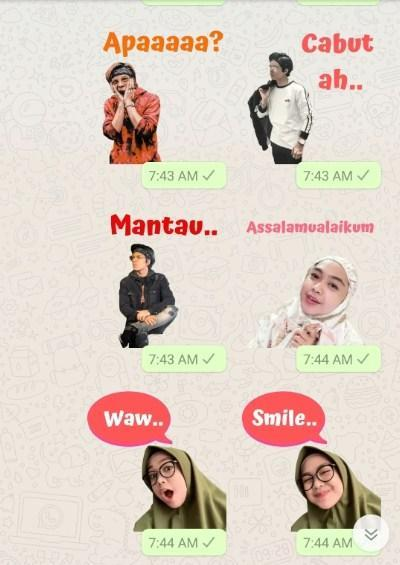 Wa Sticker Youtuber Indonesia For Android Apk Download