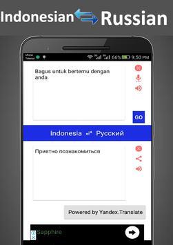 Indonesian Russian Translator screenshot 2