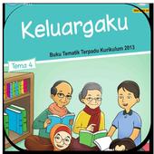 Buku Siswa Kelas 1 Tema 4 Revisi 2017 icon