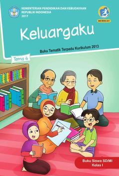 Buku Siswa Kelas 1 Tema 4 Revisi 2017 poster