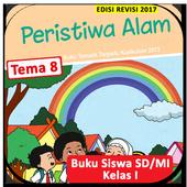 Buku Siswa Kelas 1 Tema 8 Revisi 2017 icon
