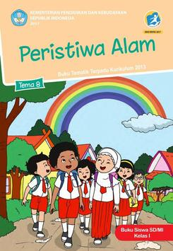 Buku Siswa Kelas 1 Tema 8 Revisi 2017 poster