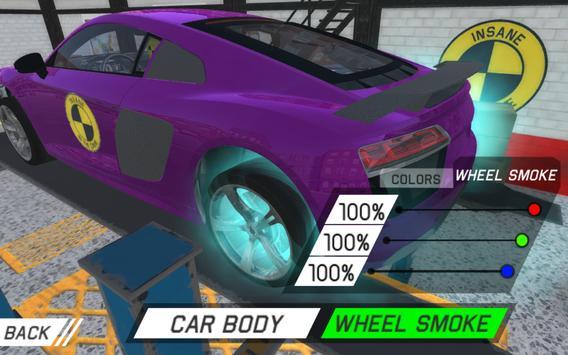 Car Crash Test R8 Sport screenshot 3
