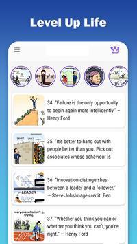 Level Up Life, Personal Development, Motivation Poster