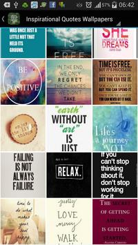 Inspirational Quote Wallpapers poster