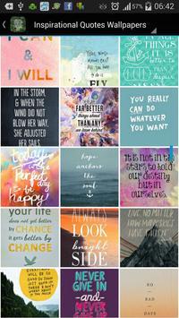 Inspirational Quote Wallpapers screenshot 7