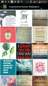 Inspirational Quote Wallpapers screenshot 4