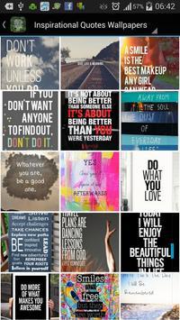 Inspirational Quote Wallpapers screenshot 6