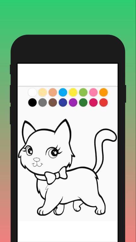 Cat Dog Coloring Mewarnai Kucing Dan Anjing For Android Apk Download