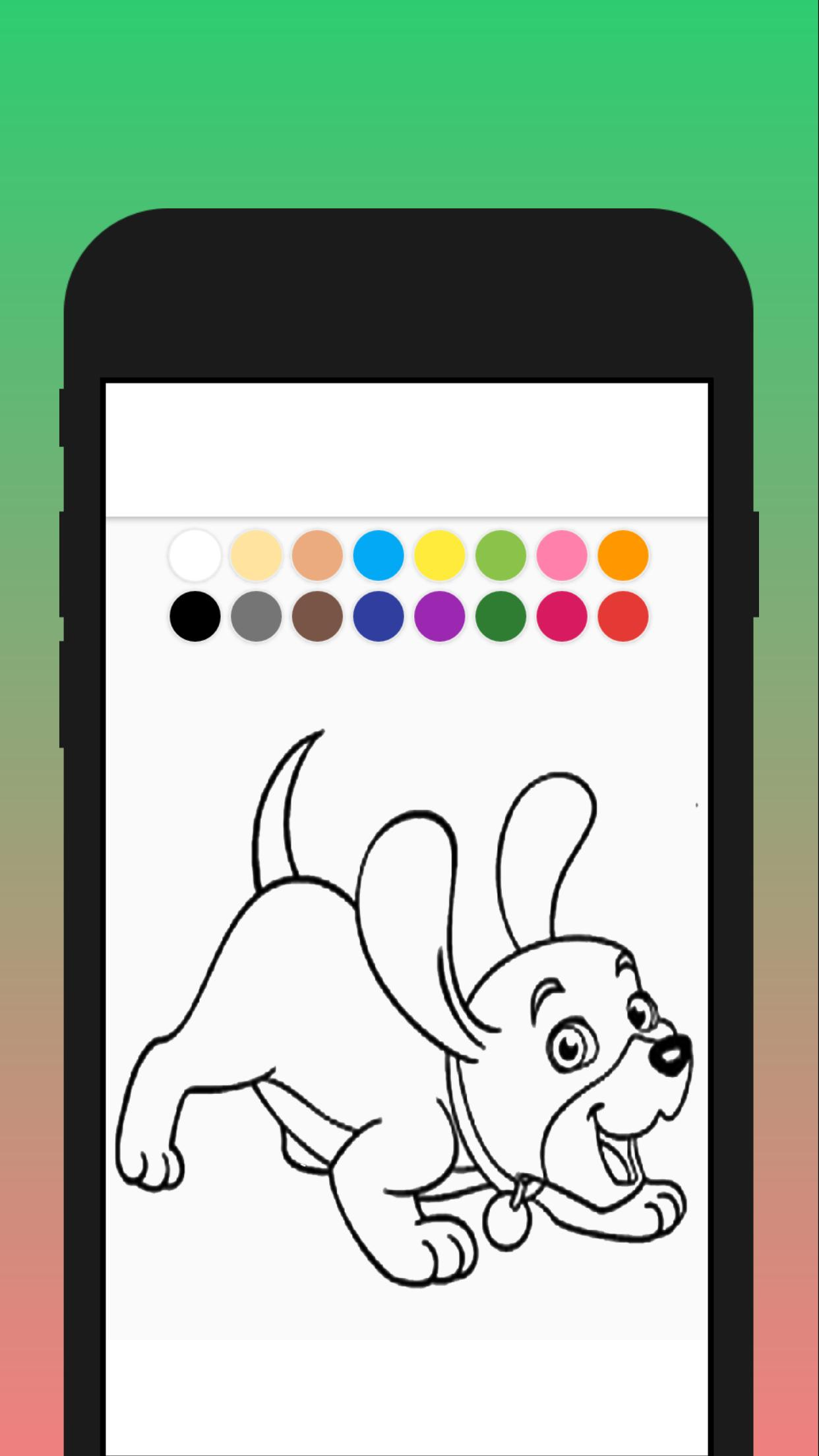 Cat Dog Coloring Mewarnai Kucing Dan Anjing For Android