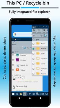 Win-X Launcher (No ads) screenshot 3