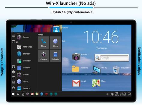 Win-X Launcher (No ads) screenshot 8