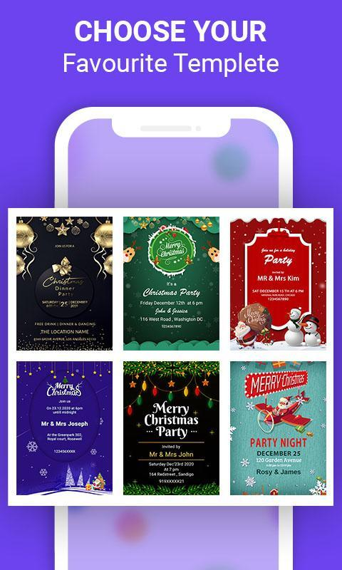 Invitation Card Maker Free Online For Android Apk Download