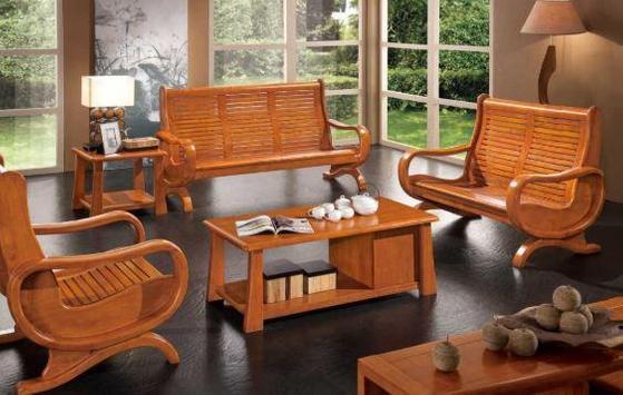 Wood Carving Chair Design screenshot 1
