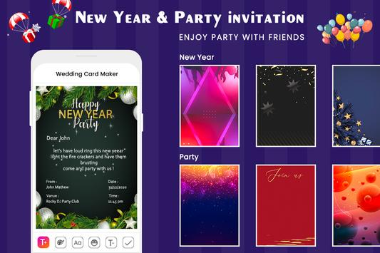 Digital Invitation Card Maker-Greeting Card Maker screenshot 4