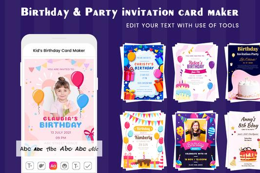 Digital Invitation Card Maker-Greeting Card Maker screenshot 5