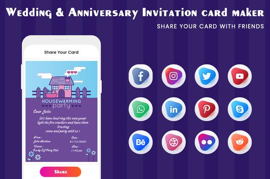 Digital Invitation Card Maker-Greeting Card Maker screenshot 7