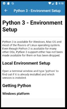 Learn Python 3 Offline for Android - APK Download
