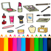 Coloring Beauty Cosmetics icon