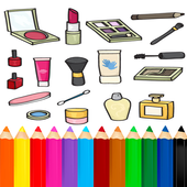 Coloring Beauty Cosmetics icon