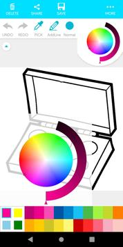 Coloring Beauty Cosmetics screenshot 4