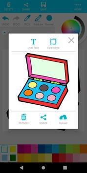 Coloring Beauty Cosmetics screenshot 13