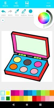 Coloring Beauty Cosmetics screenshot 12