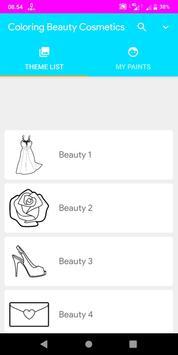 Coloring Beauty Cosmetics screenshot 14